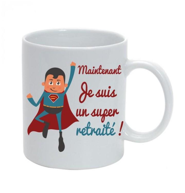 Assez cadeau pour les retraités, un mug original et pas cher, mug rigolo MP61