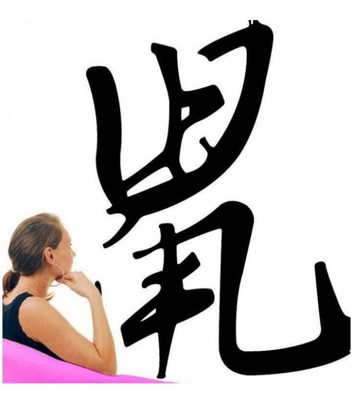 Sticker symbole chinois