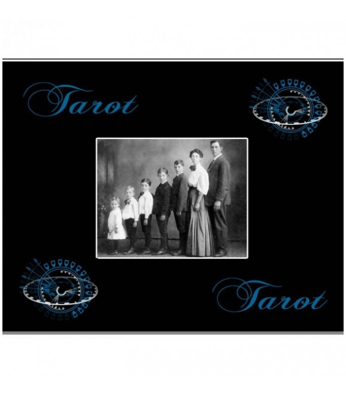 tapis de tarot photo personnalise