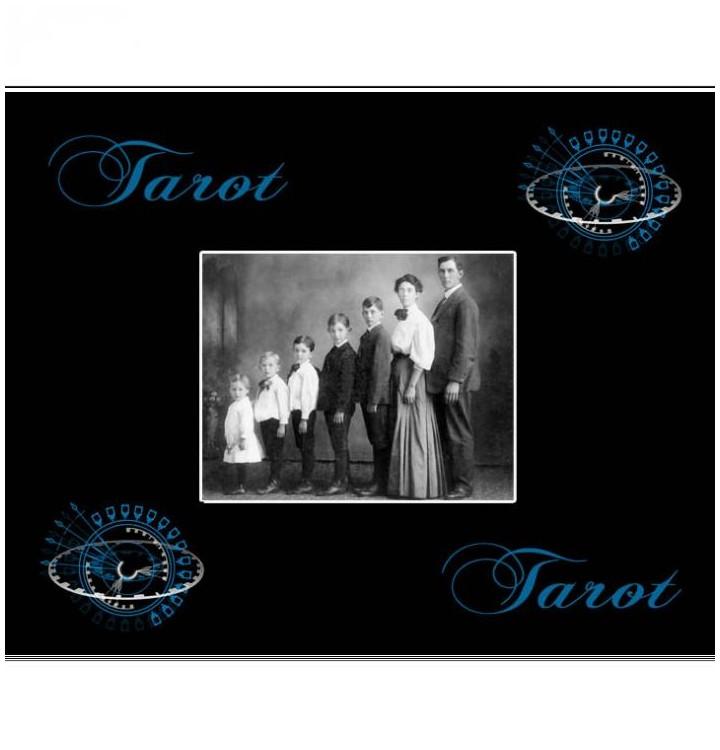 Superbe Cadeau Personnalis Pour Les Joueurs De Tarot Tapis Tarot Personnalisable