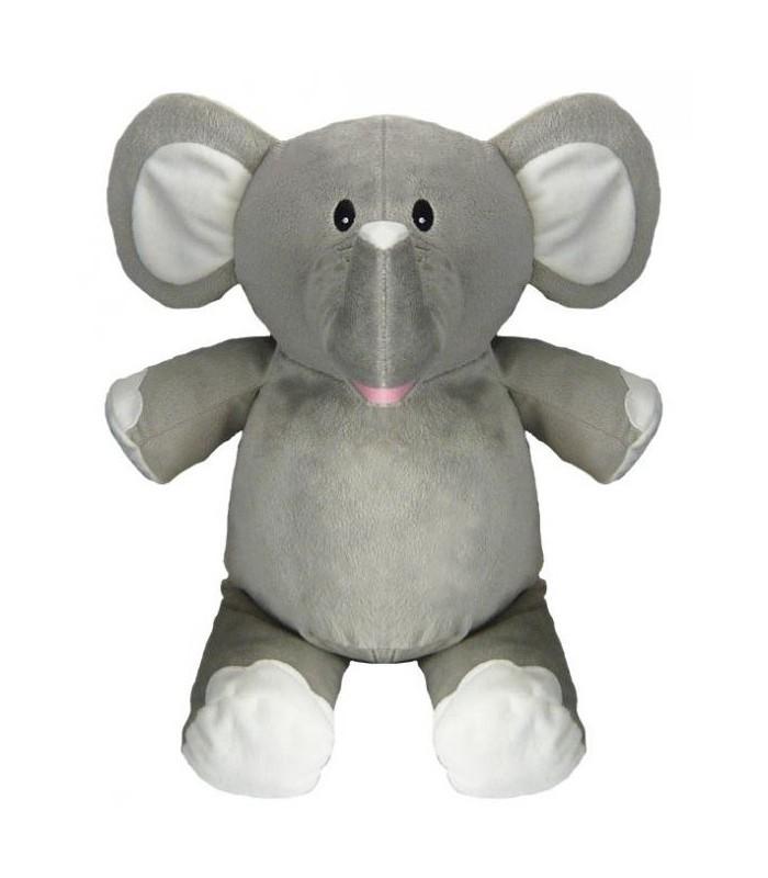 peluche brodée prénom éléphant