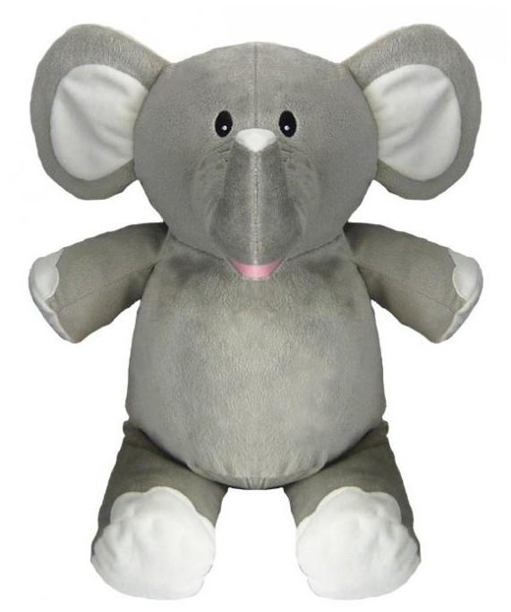 Peluche elephant personnalisé brodé
