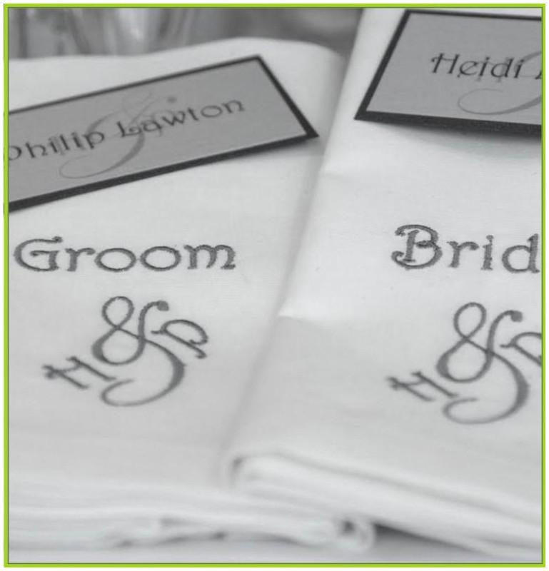 serviette de table brodée personnalisée pas cher   my blog