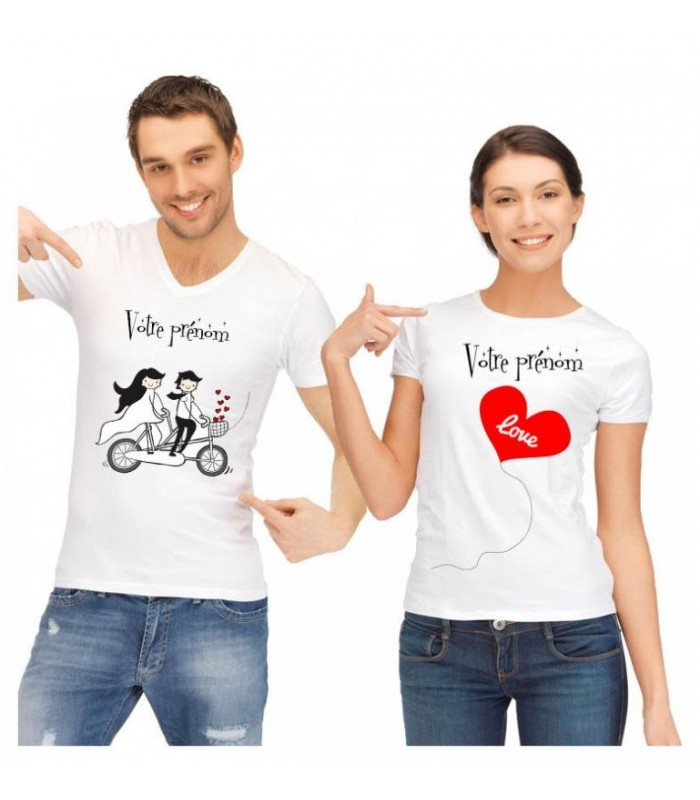 tee shirt duo velo