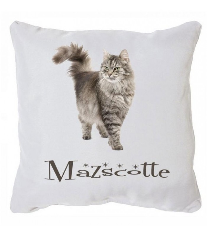 coussin chien chat personnalise