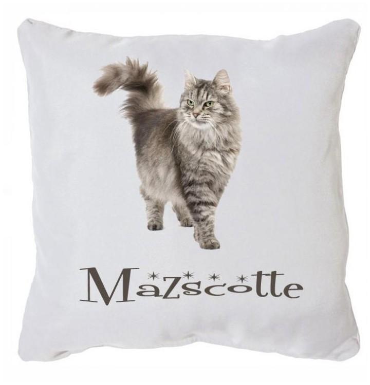 offrez a votre chat ou chien un joli coussin personnalise en cadeau. Black Bedroom Furniture Sets. Home Design Ideas