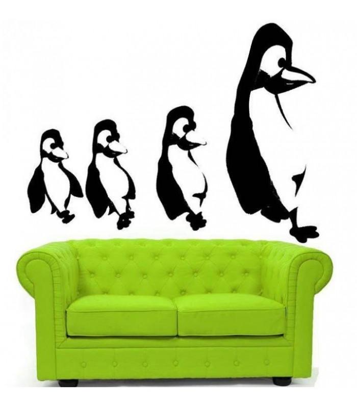 sticker pingouins