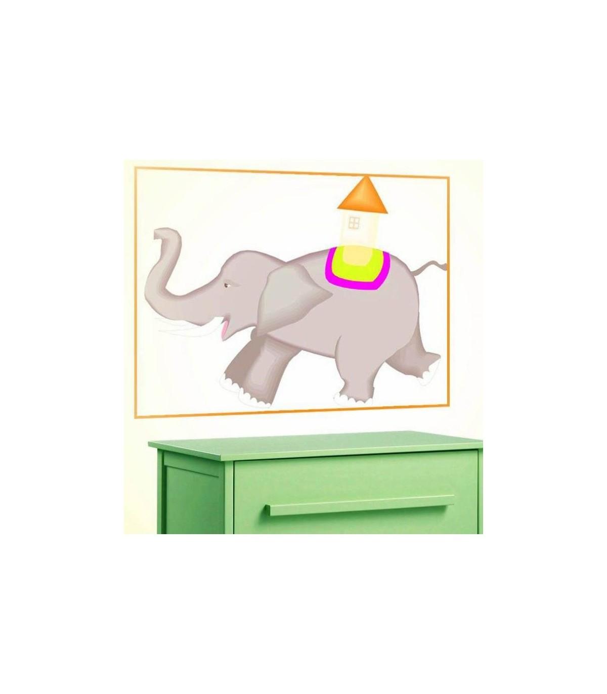 Sticker elephant coure