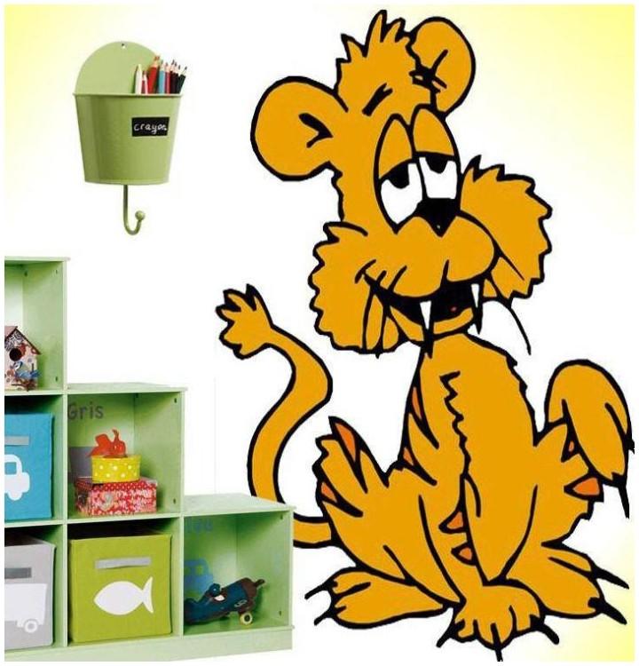 Sticker chat beige