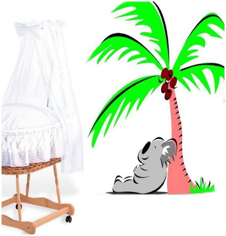 Sticker koala palmier