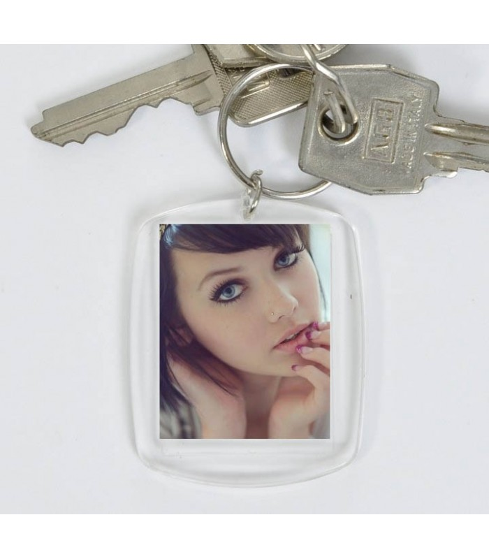 Porte cle avec photo