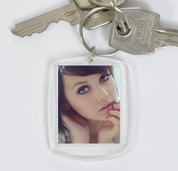 Porte cles avec photo