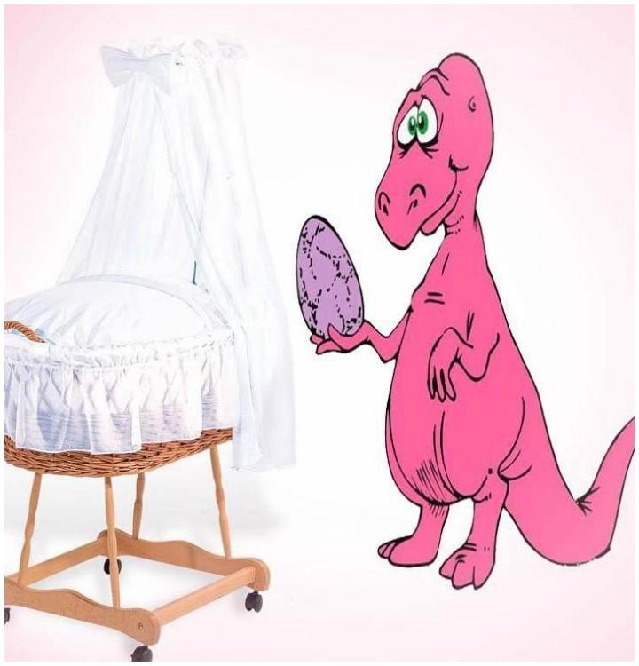 Sticker dinosaure avec oeuf