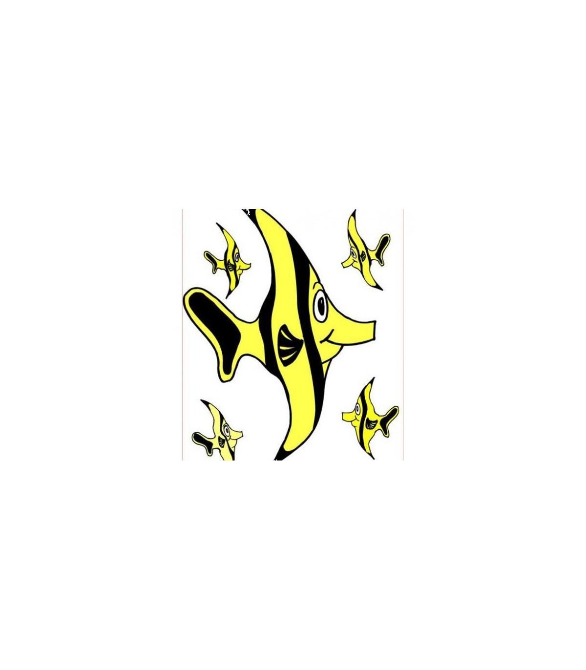 Sticker poissons zebre