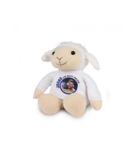peluche mouton avec photo