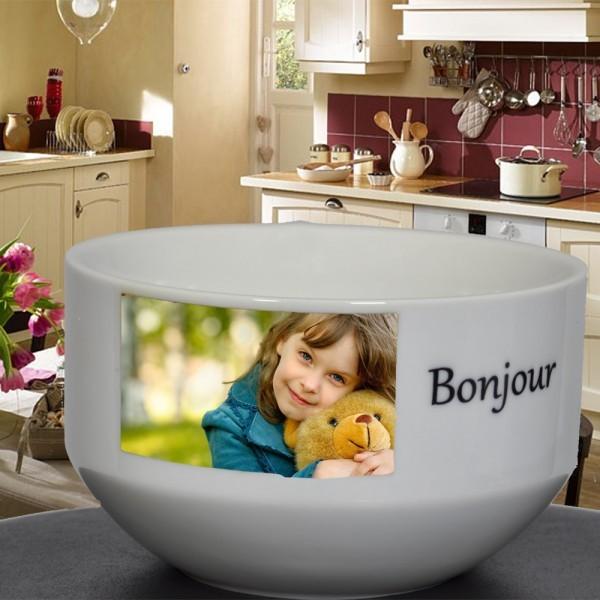 Mon bol petit déjeuner avec photo