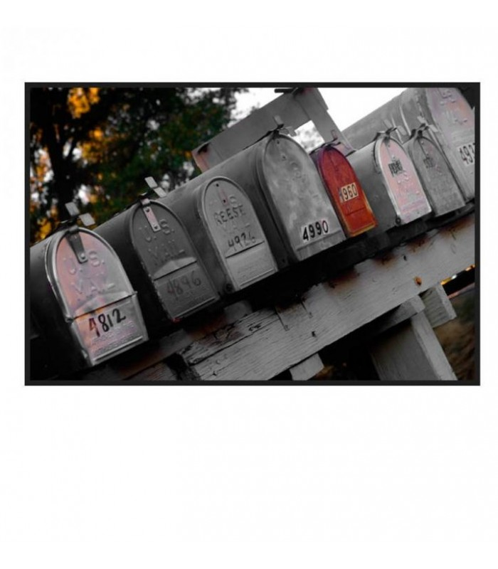 Photo boite aux lettres  usa