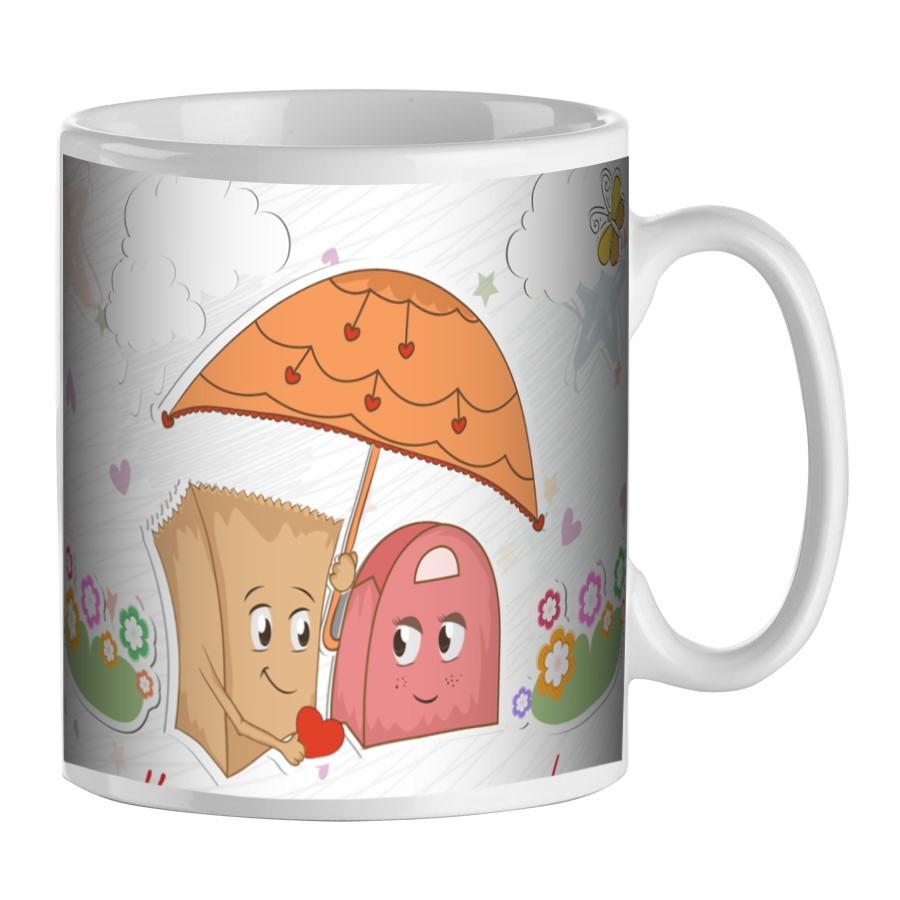 mug pour la saint valentin cadeau pour amoureux pour la. Black Bedroom Furniture Sets. Home Design Ideas