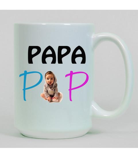 mug geant photo personnalise avec photo