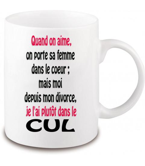mug cadeau rigolo divorce