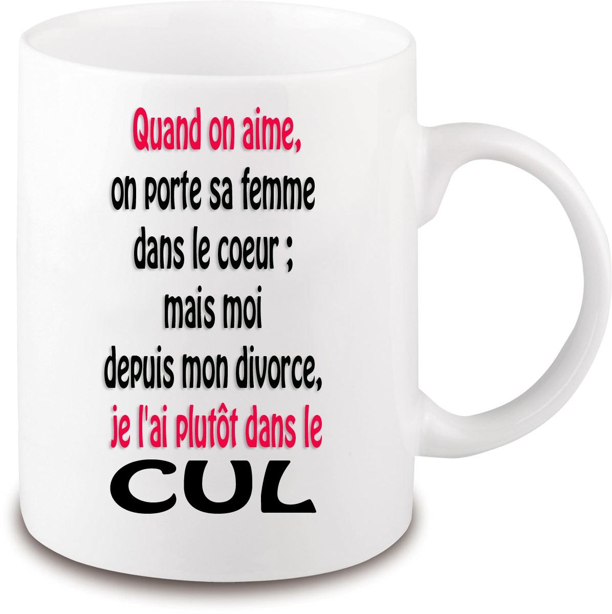 Cadeau Rigolo Et Original Pour Faªter Un Divorce Laboutiquekdo