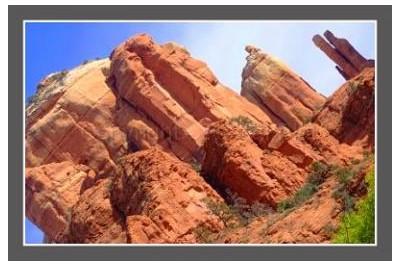 Photo zion canyon