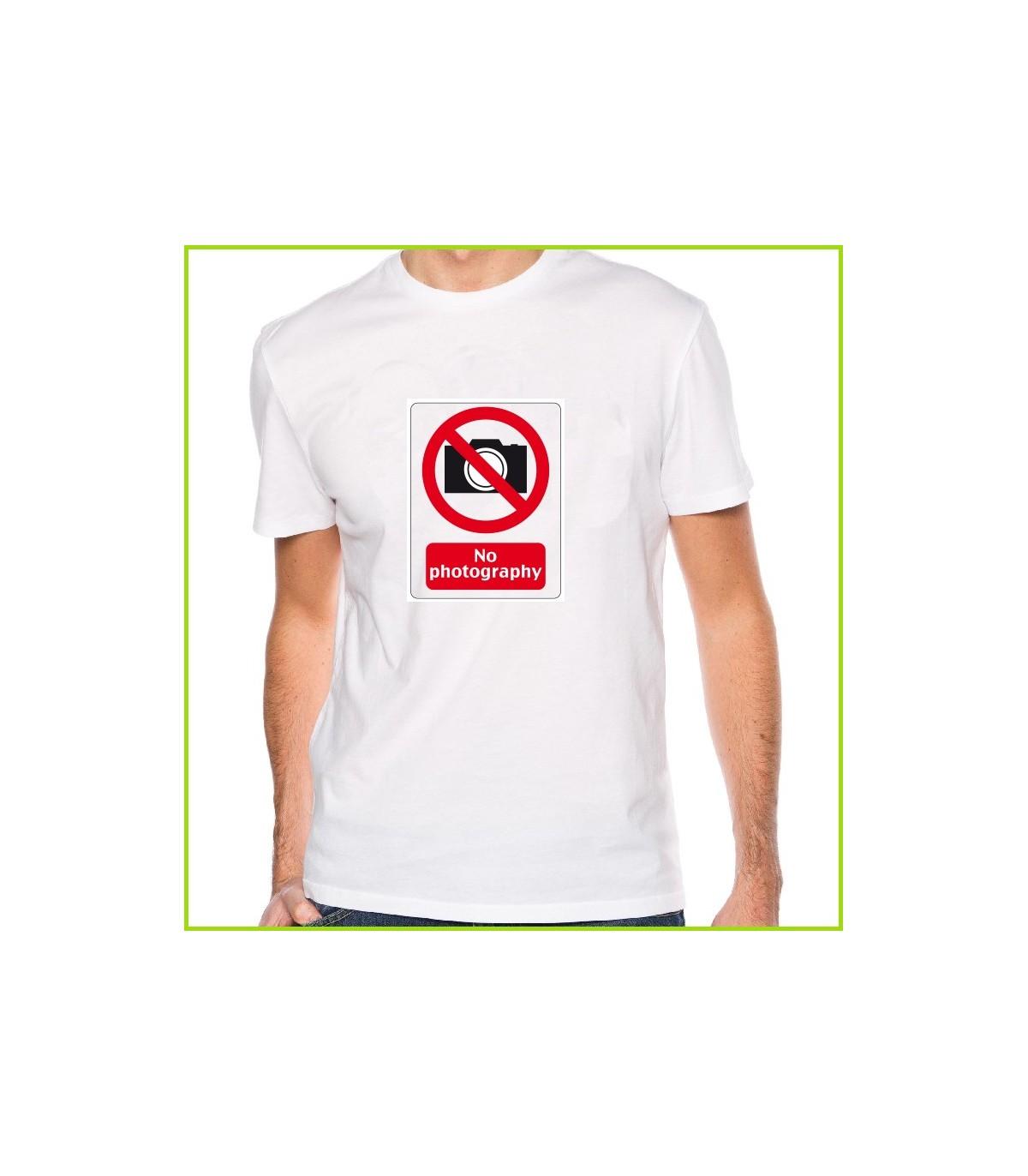 Tee shirt pas de photo