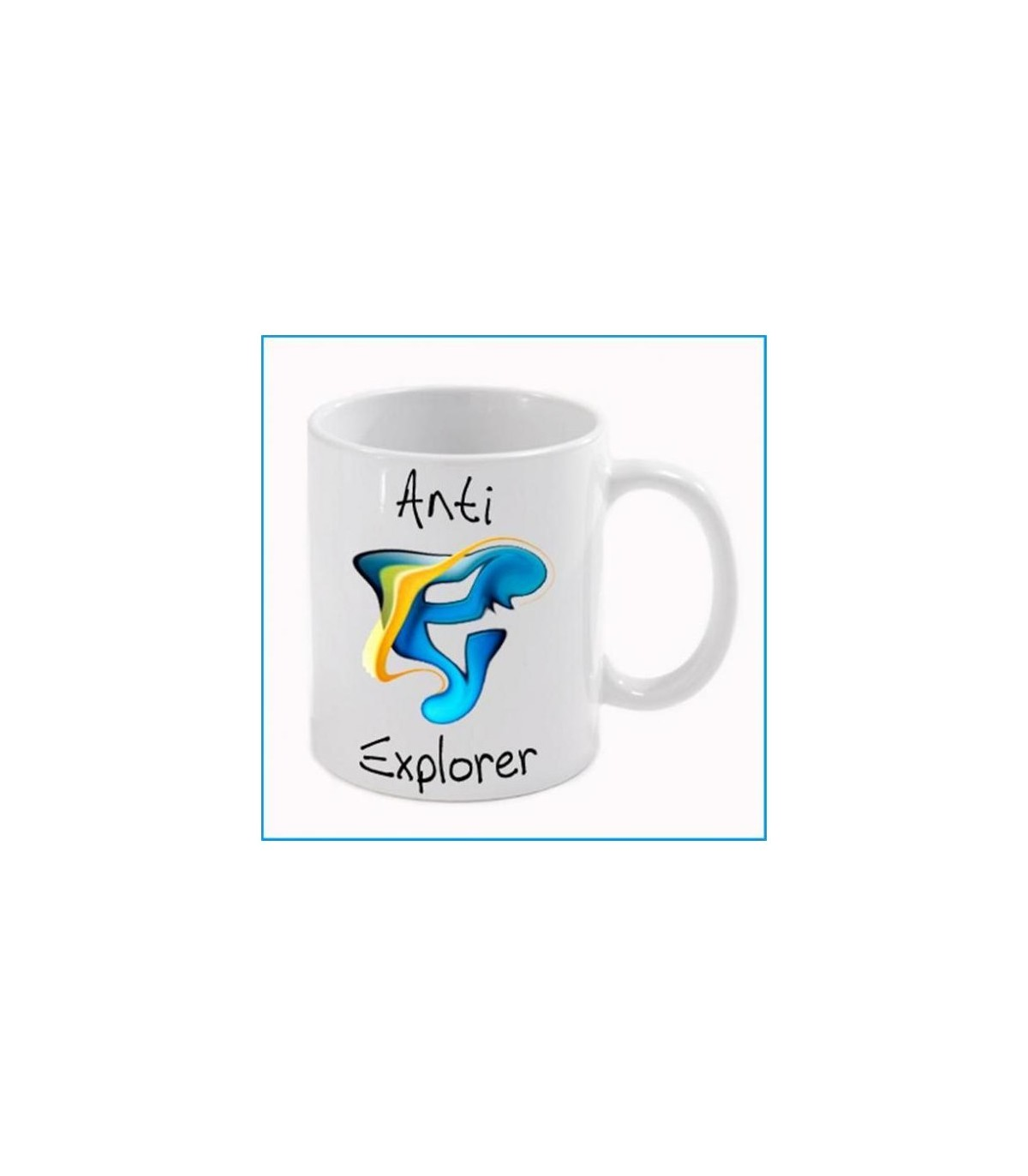 Cadeau mug  le mug explorer