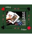 tapis de jeu poker