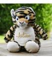 Tigre peluche personnalisé