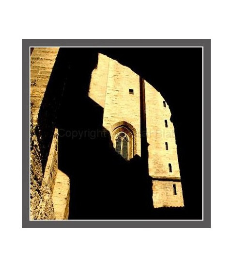 Photo du palais des papes Avignon