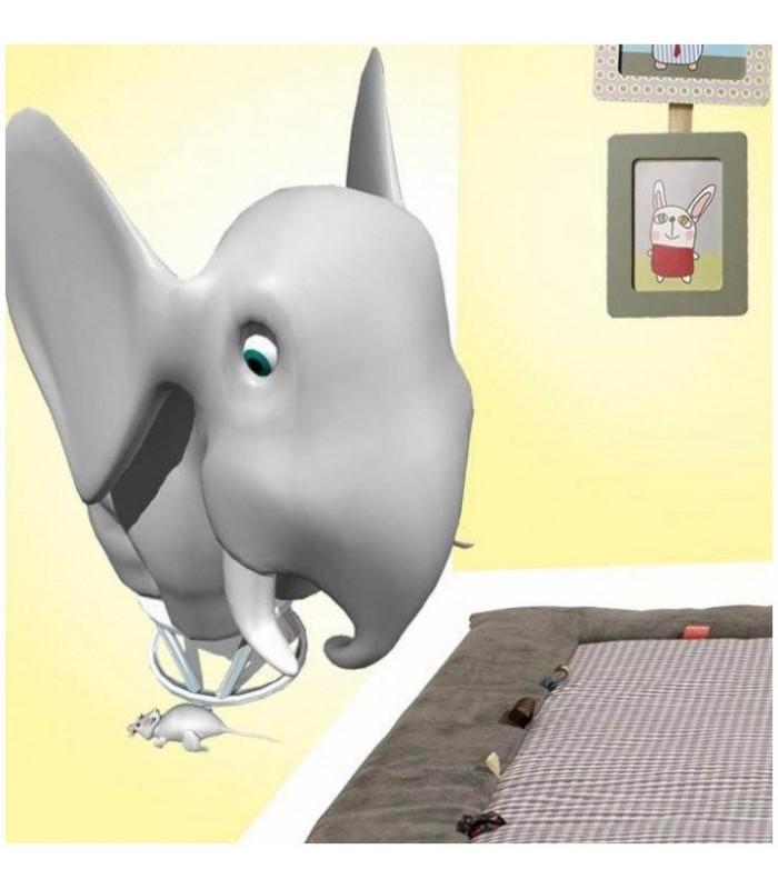 sticker éléphant souris