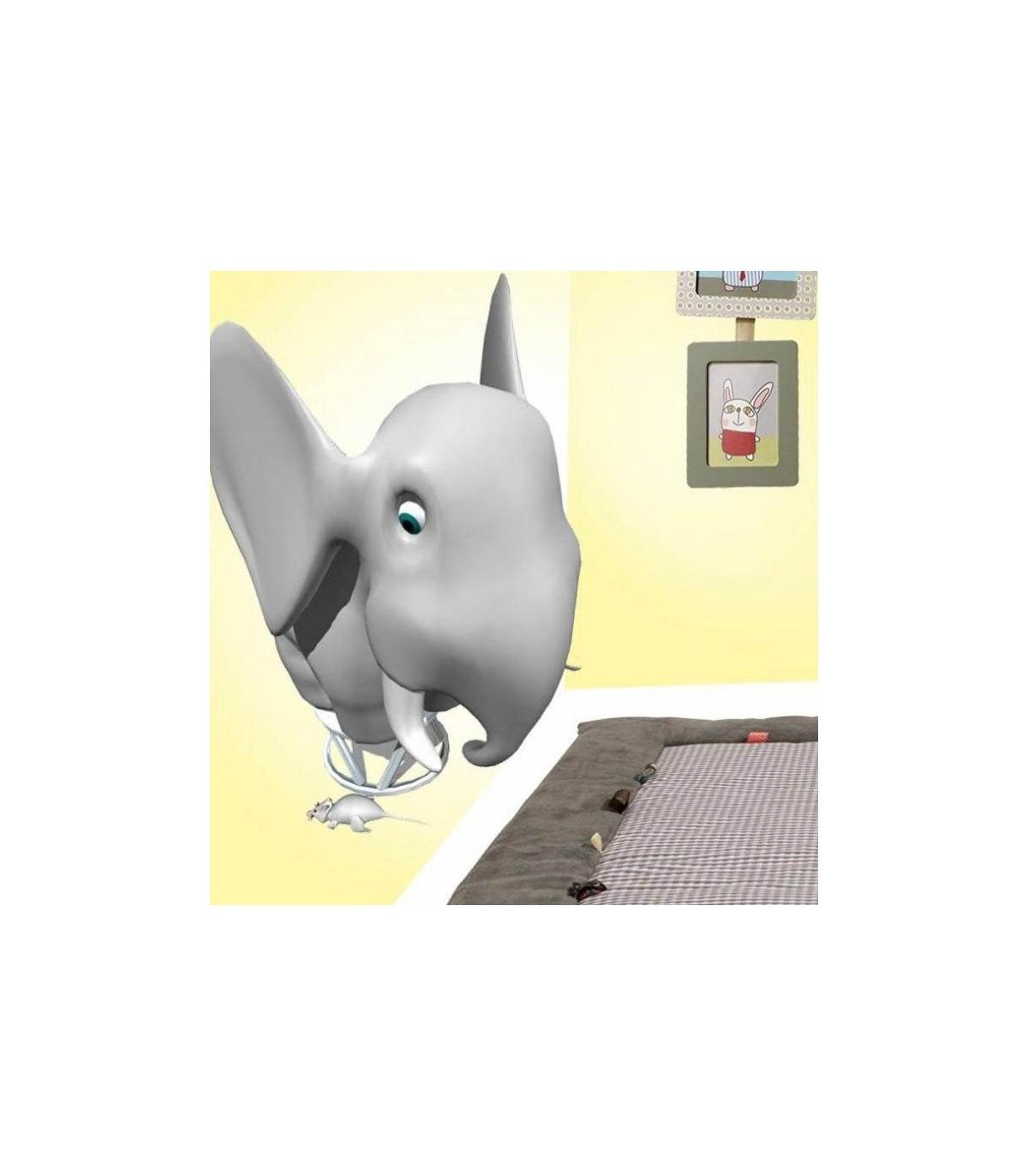 Sticker elephant et souris