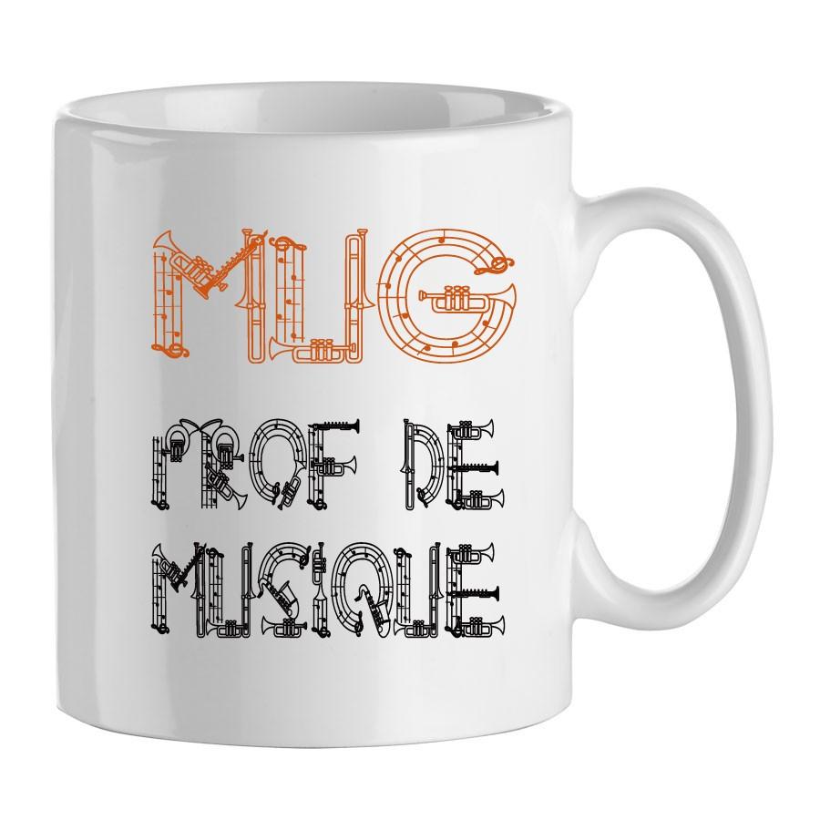 mug cadeau pour professeur de musique mug pour les profs. Black Bedroom Furniture Sets. Home Design Ideas
