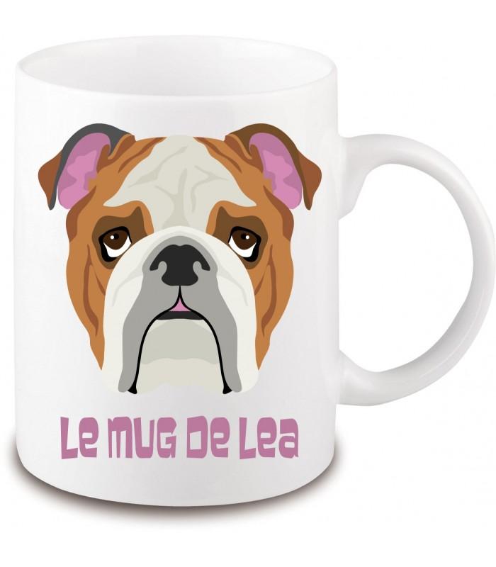 Mug chien bouledogue