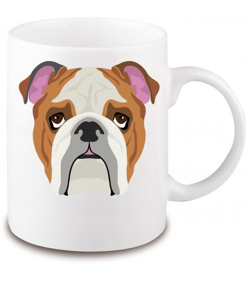 Mug race chien bouledogue