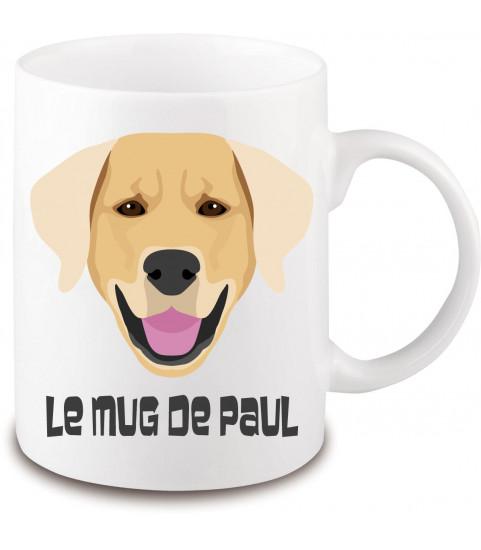 Mug chien golden retriever