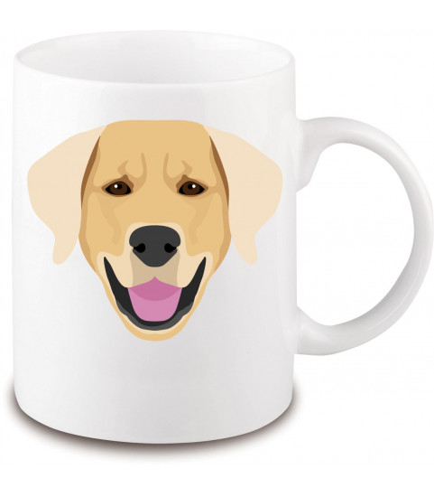 Mug race chien golden