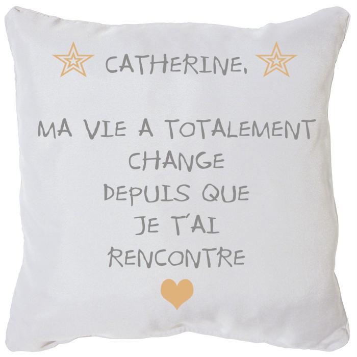 coussin personnalis avec texte pour d claration d 39 amour cadeau amour. Black Bedroom Furniture Sets. Home Design Ideas
