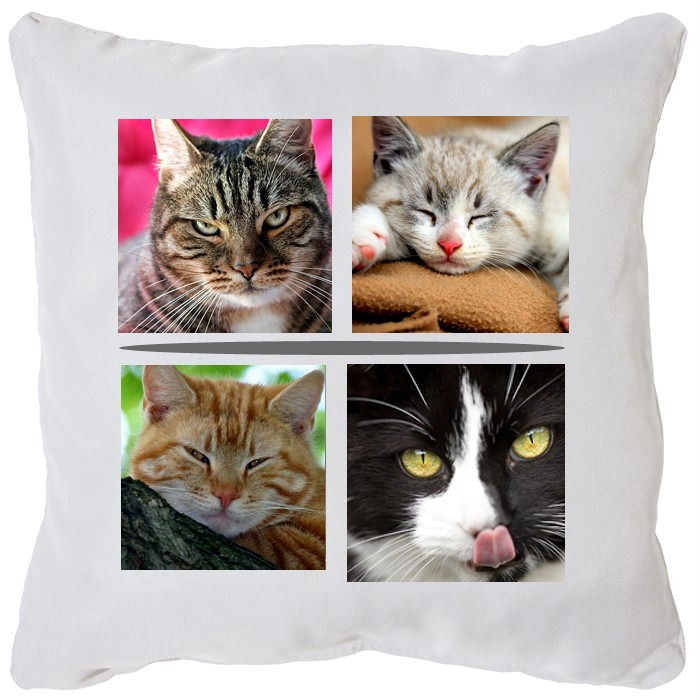 Coussin photo multi images