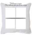 Coussin multi images