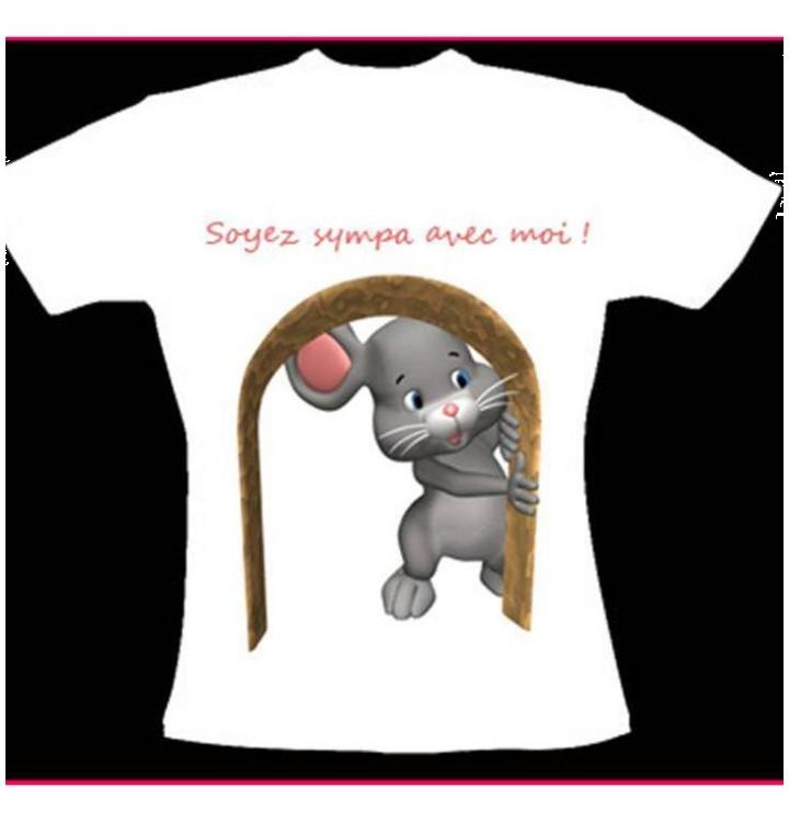 Tee shirt petite souris