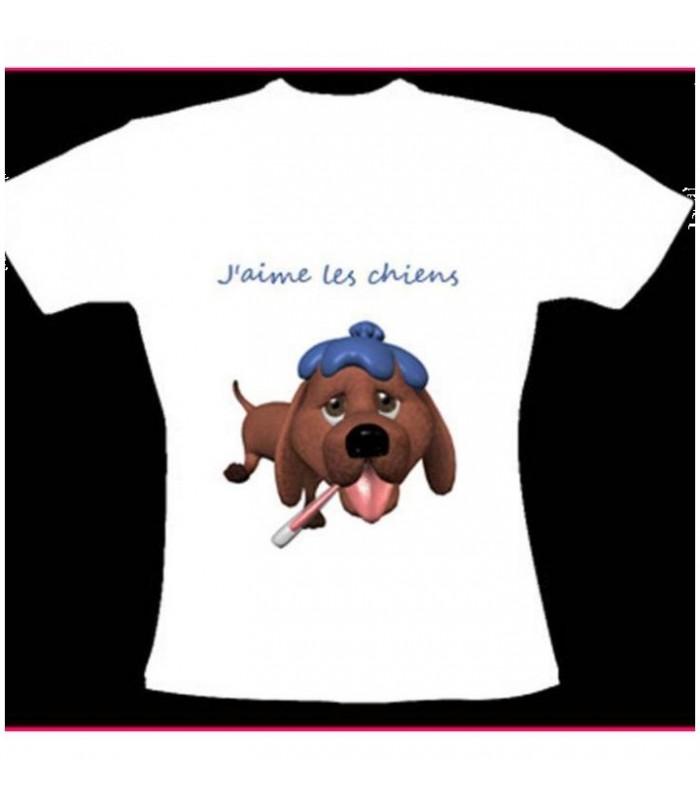 tee shirt chien original