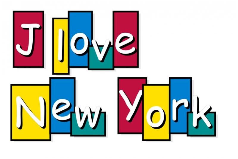 Sticker love new york