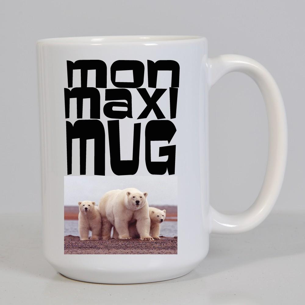 mug xxl pour boire caf ou soupe personnalis avec photo cadeau mug. Black Bedroom Furniture Sets. Home Design Ideas