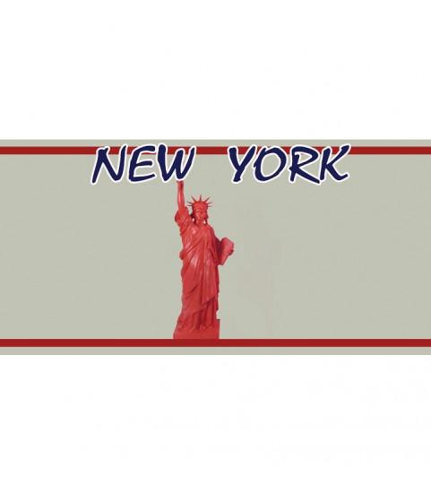 Plaque US New York personnalisée