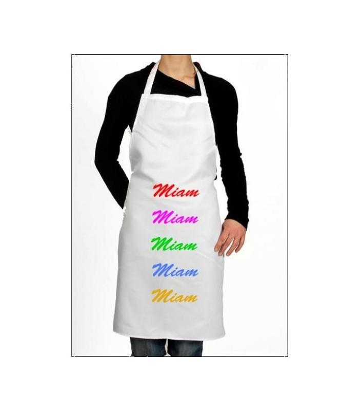 Un joli tablier de cuisine personnalisé pour la meilleure des cuisinières