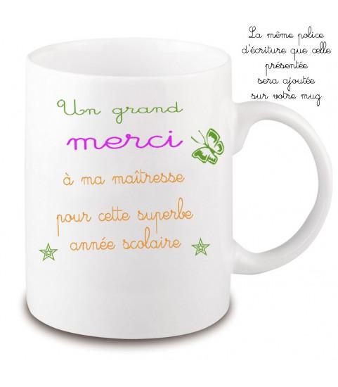 Mug maitresse