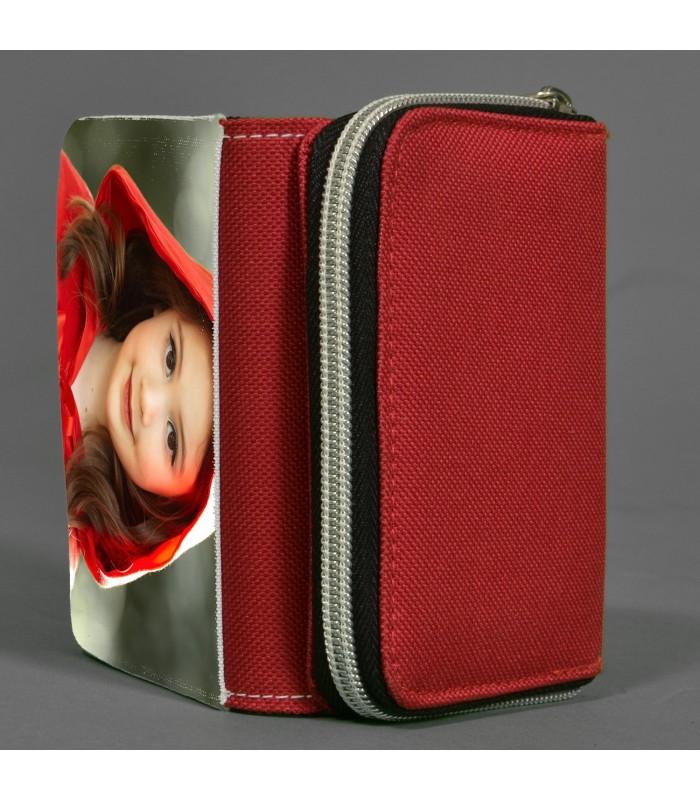 porte monnaie rouge femme