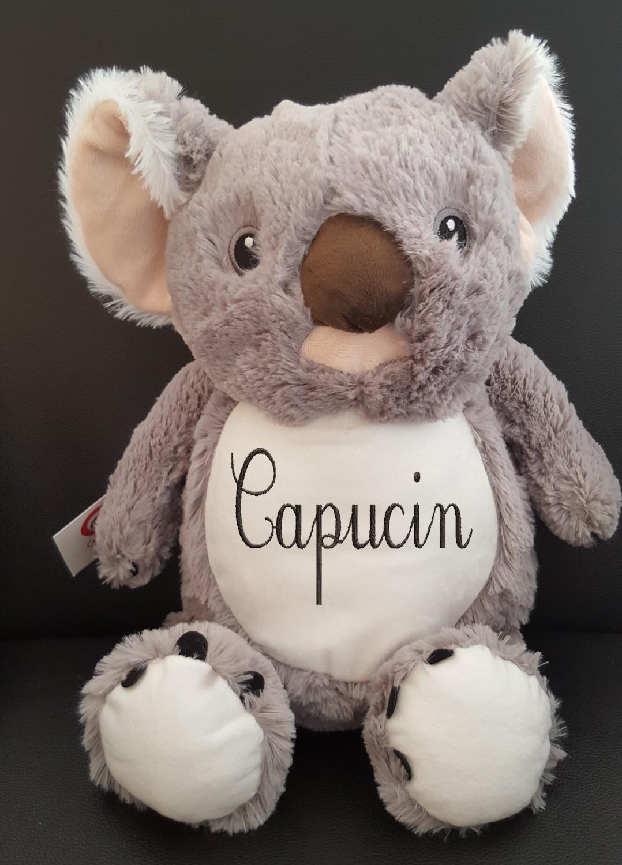 Peluche Koala brodé